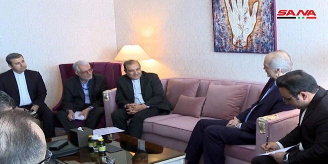 Syrian Arab Republic delegation holds a meeting with Iranian delegation in framework of Astana talks