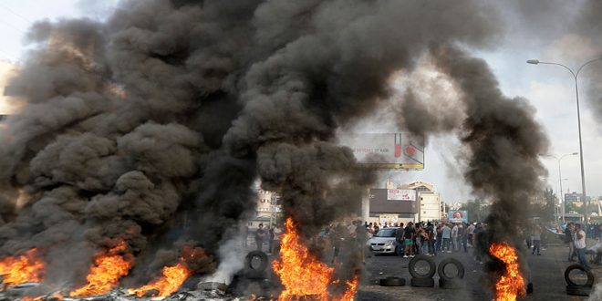 Demonstrations in Lebanon continue