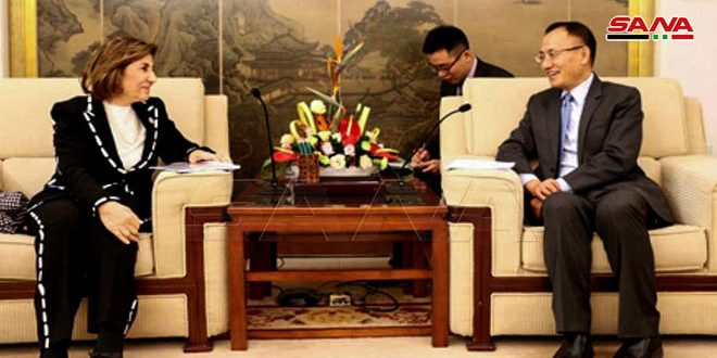 Xiaodong: China will continue to support and cooperate with Syria in combating terrorism