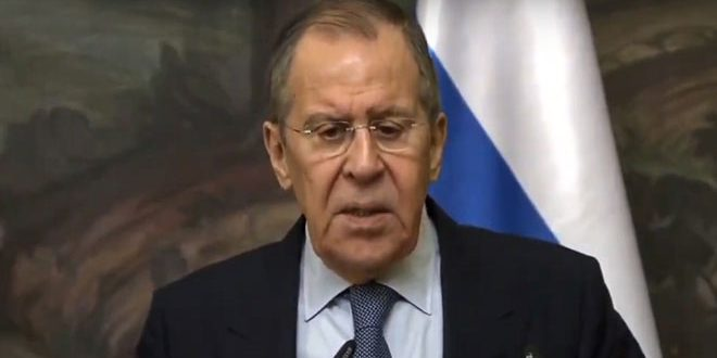 Lavrov: Terrorists positioned in Idleb continue their provocations and attacks