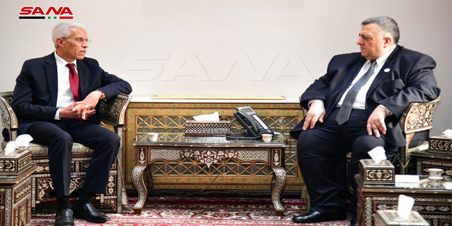 Sabbagh: We appreciate Algeria's stances in support of Syria