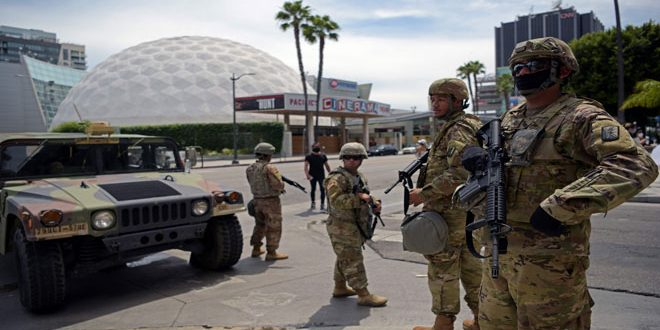 More protests sweep Washington, US army sends hundreds of its troops to quell them