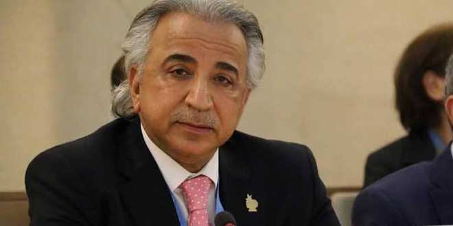 """Dashti : Silence about Western coercive economic sanctions against Syria in light of the corona pandemic """"human crime"""""""
