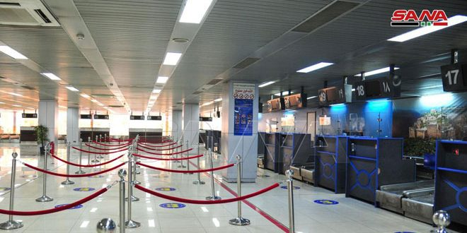 Preparations for the reopening of Damascus International Airport on October 1st completed