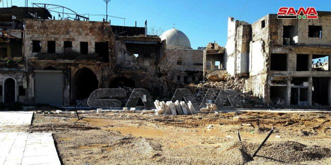 Rehabilitation of al-Hatab square in old Aleppo with cost of SYP200 million