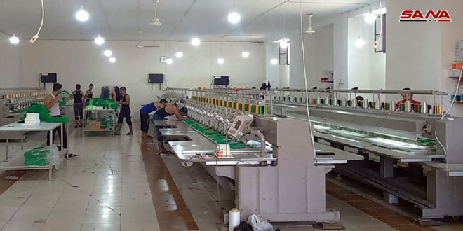 With a capital of SYP 62.6 billion, 1066 industrial establishments enter phase of production in 2020