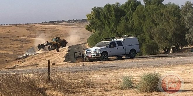 Israeli occupation forces demolish al-Araqib village for the 182nd time