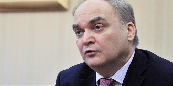 Antonov : Russia and US  could cooperate in Syria on condition of respecting Syria's sovereignty