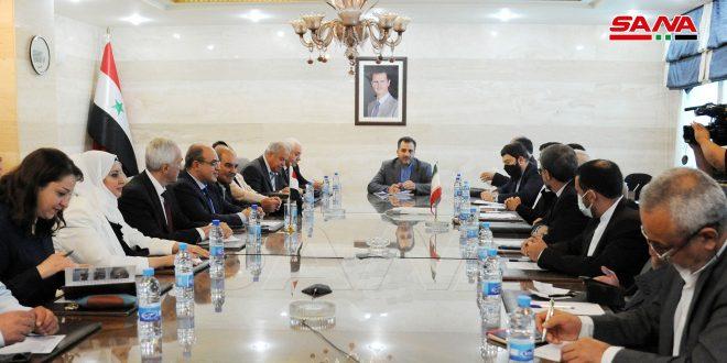 Syria, Iran to enhance joint economic cooperation