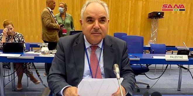 Ambassador Khaddour : Syria fulfilled all its obligations regarding Nuclear Non-Proliferation treaty