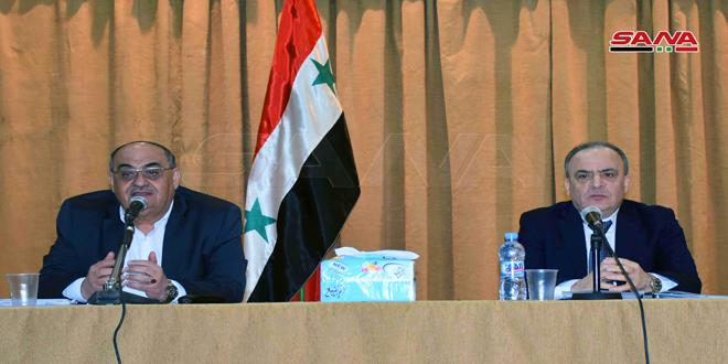 Khamis lanza la Estrategia Nacional para el Desarrollo Agrícola en Siria
