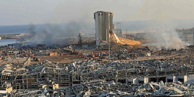 Al menos 43 sirios murieron en la explosión del puerto de Beirut