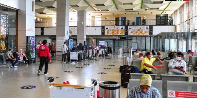 En fotos: el Aeropuerto Internacional de Damasco pocos días antes de su reapertura