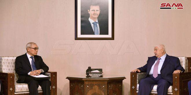 אלמועלם ושיה שיאו יאן .. ההמשך להאבק בטרור בסוריה ולסכל את הסכנה המהווה על הביטחון והיציבות באזור ובעולם