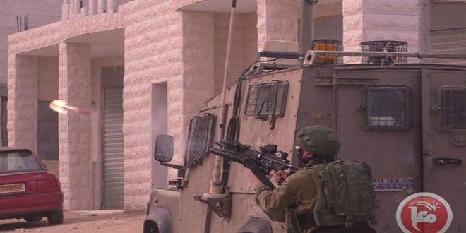 כמה פלסטינים נפגעו בעיירה בית אומר צפונית לחברון