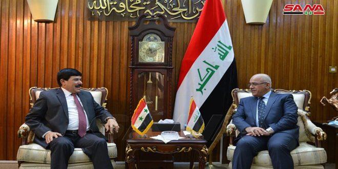 Министр высшего образования Ирака и посол САР в Багдаде обсудили академическое сотрудничество