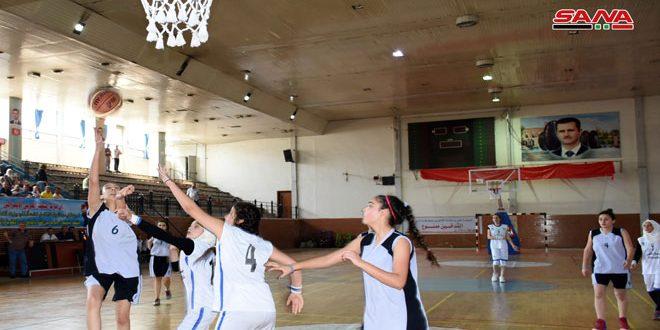 فوز سلمية ومحردة في افتتاح دوري الناشئات بكرة السلة
