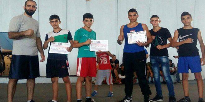 جعفر إسماعيل موهبة واعدة برياضة الملاكمة