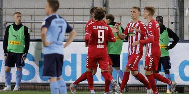 فرايبورغ يتغلب على مونشغلادباخ في الدوري الألماني